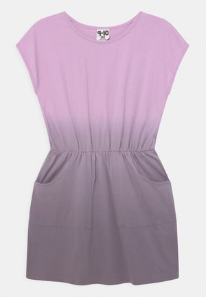 SIGRID SHORT SLEEVE - Jersey dress - pale violet/dusk purple