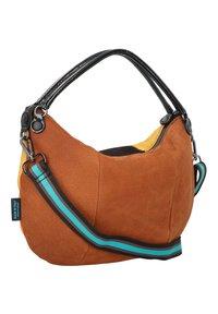 Gabs - STAR  - Handbag - black-cognac-saffron - 1