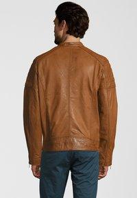 Capitano - IOWA - Leather jacket - cognac - 2