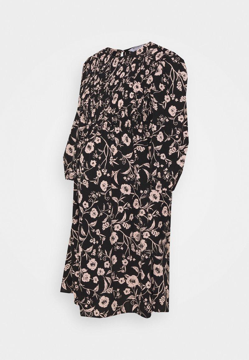 Dorothy Perkins Maternity - SHIRRED FLORAL PRINT MINI DRESS - Vapaa-ajan mekko - multi