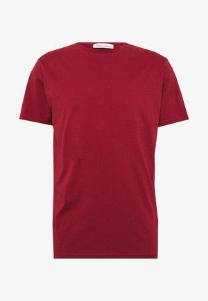 UNISEX THE ORGANIC TEE - Basic T-shirt - merlot