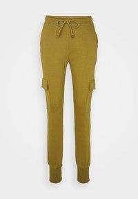 Vero Moda - VMMERCY PANT - Tracksuit bottoms - fir green - 3