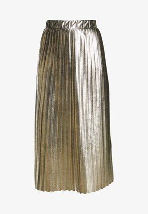 PLATINA - Jupe trapèze - golden
