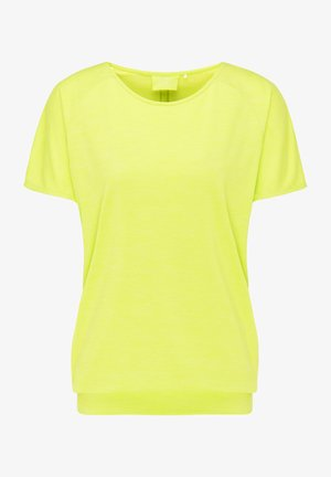 Basic T-shirt - lime punch