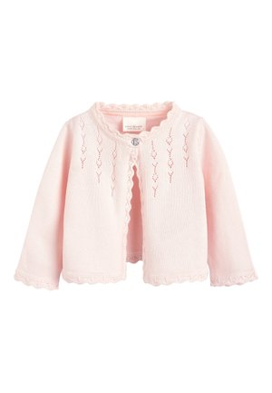 PINK OCCASION CARDIGAN (0MTHS-2YRS) - Vest - pink