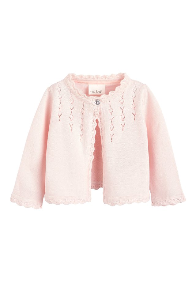 PINK OCCASION CARDIGAN (0MTHS-2YRS) - Cardigan - pink