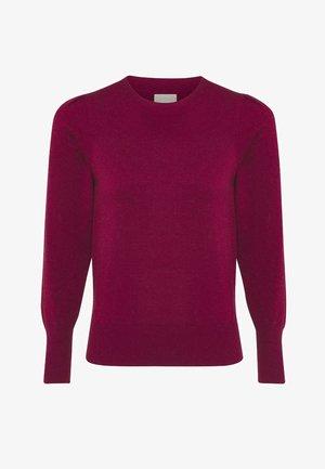 Sweater - wine red