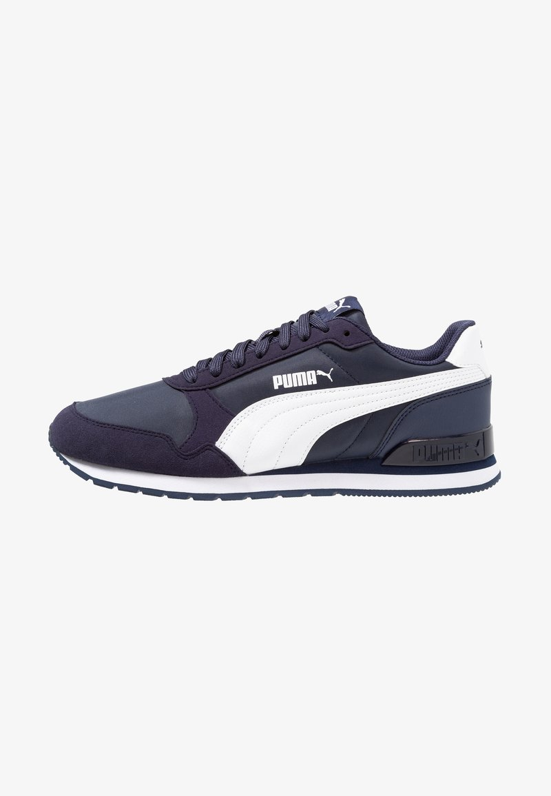 Puma - RUNNER UNISEX - Trainers - peacoat/white
