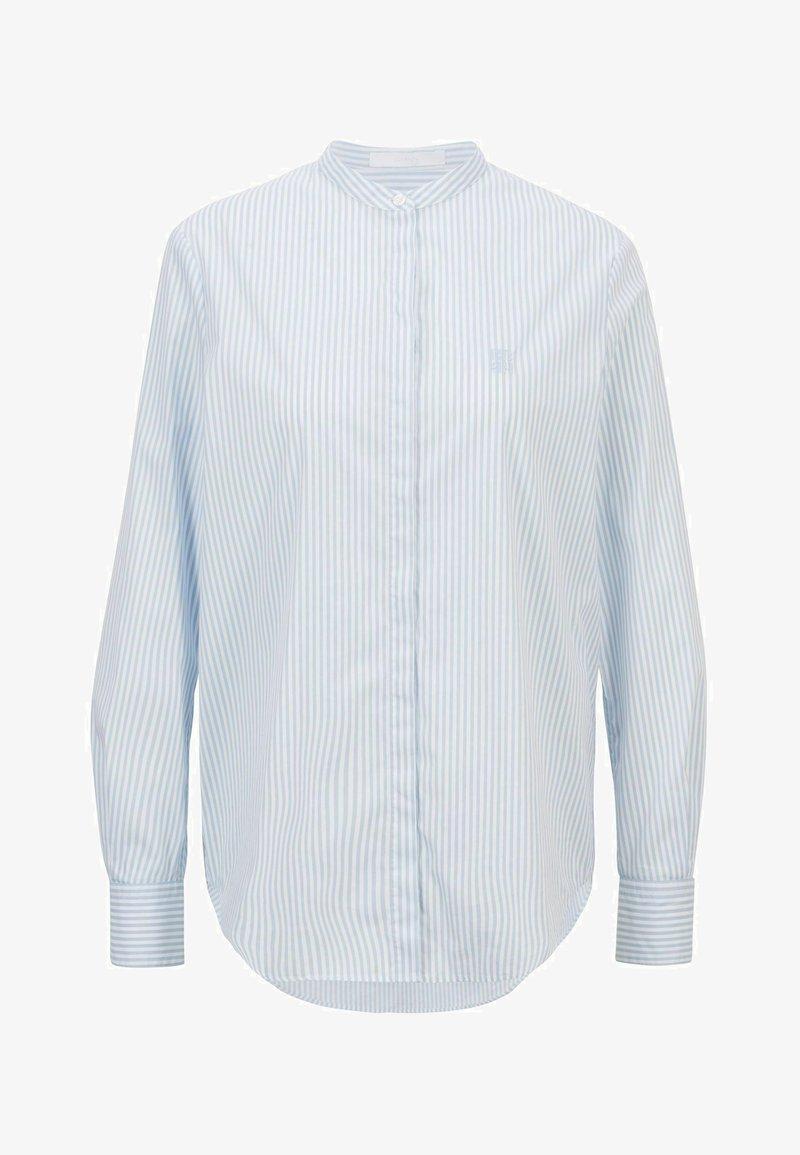 BOSS - BEFELIZE - Button-down blouse - light blue