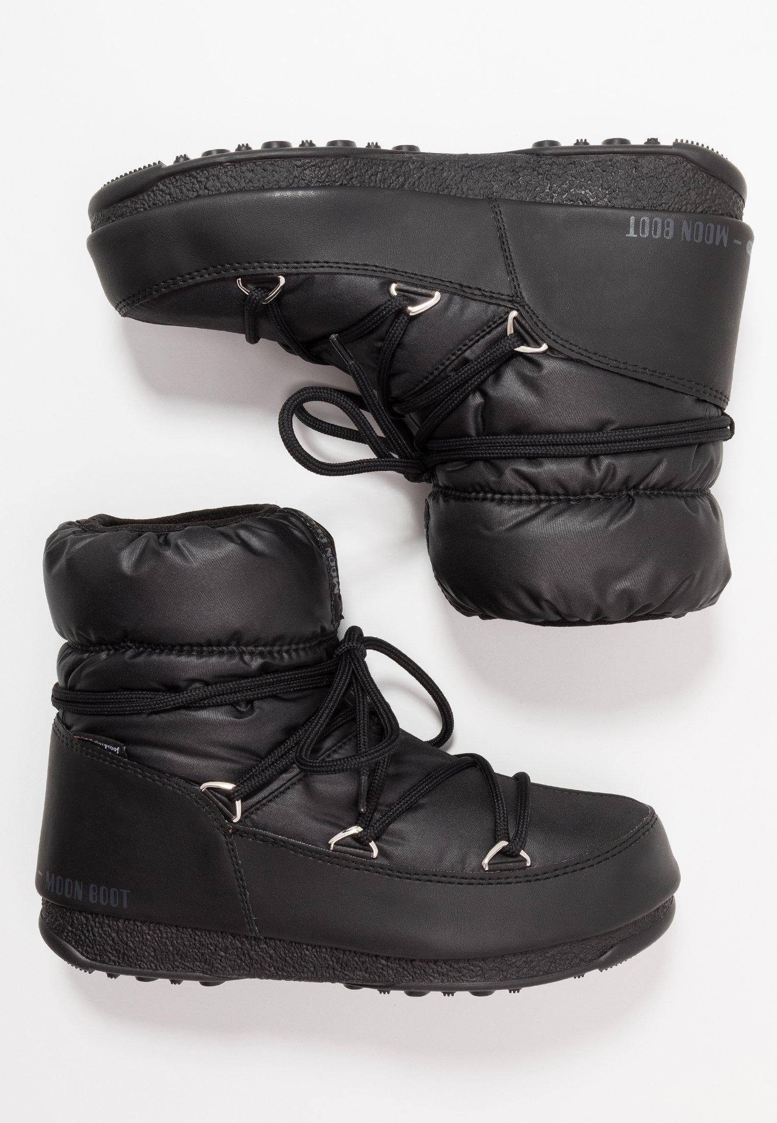 LOW WP Vinterstövlar black