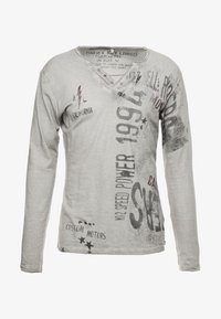 Key Largo - SPEED - Maglietta a manica lunga - silver - 5
