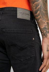 Replay - ANBASS - Jeans slim fit - dark grey - 5