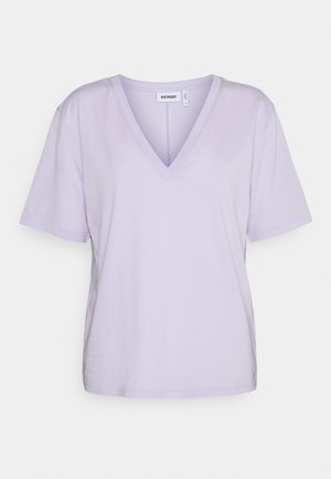 LAST V NECK - Basic T-shirt - lilac