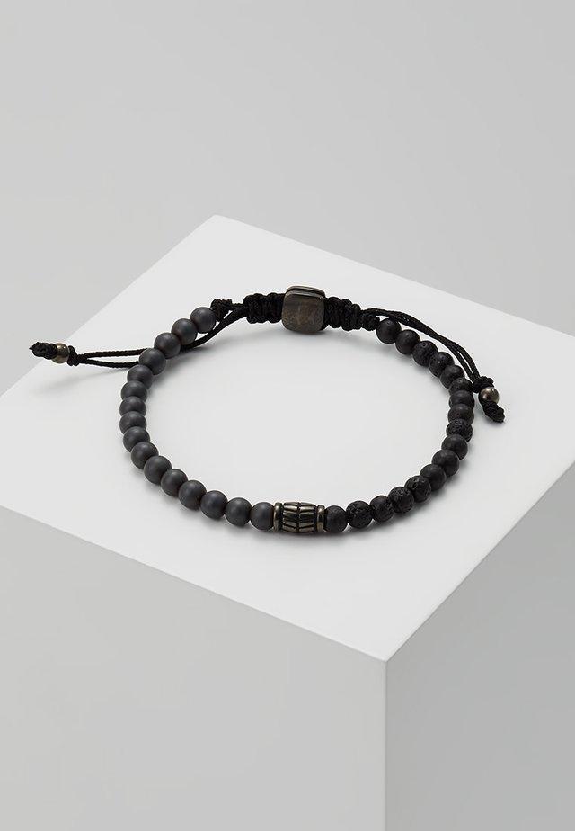 VINTAGE CASUAL - Armband - grau/schwarz