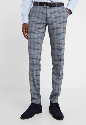 FOOT - Oblekové kalhoty - dark grey