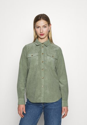 VMSYLVIA - Button-down blouse - oil green