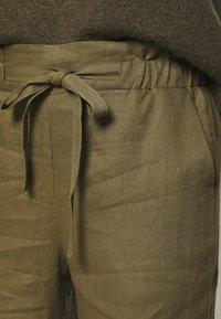 Noa Noa - ESSENTIAL - Trousers - burnt olive - 4