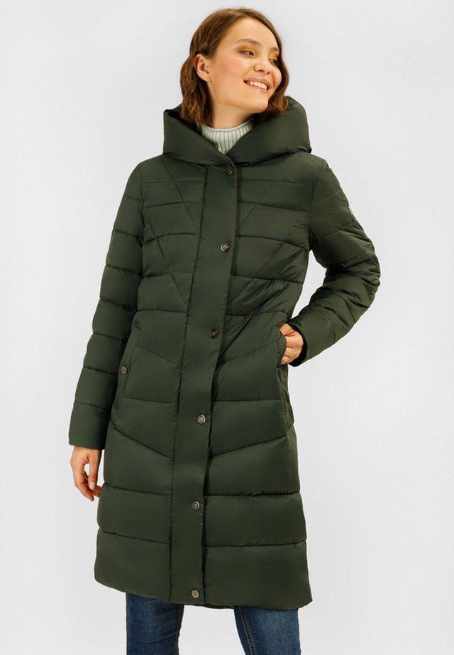 MIT KUSCHELIGER - Winter coat - myrtle