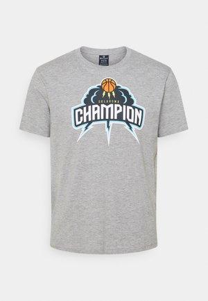 CREWNECK - Print T-shirt - grey