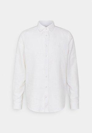ANTON DETACHABLE COLLAR - Shirt - bright white