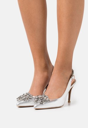 LAGOS - High heels - silver