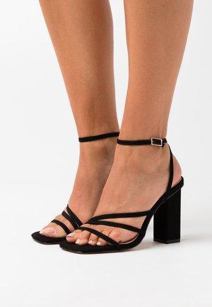 ANALEA - Sandalen met hoge hak - black