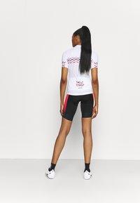 Gore Wear - HAKKA WOMENS - Tights - black/hibiscus pink - 2