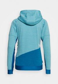 La Sportiva - AIM HOODY - Treningsjakke - pacific blue/neptune - 1