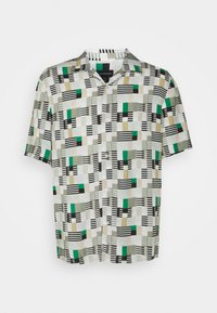 Club Monaco - PRINT SHIRT - Camicia - green/multi - 0