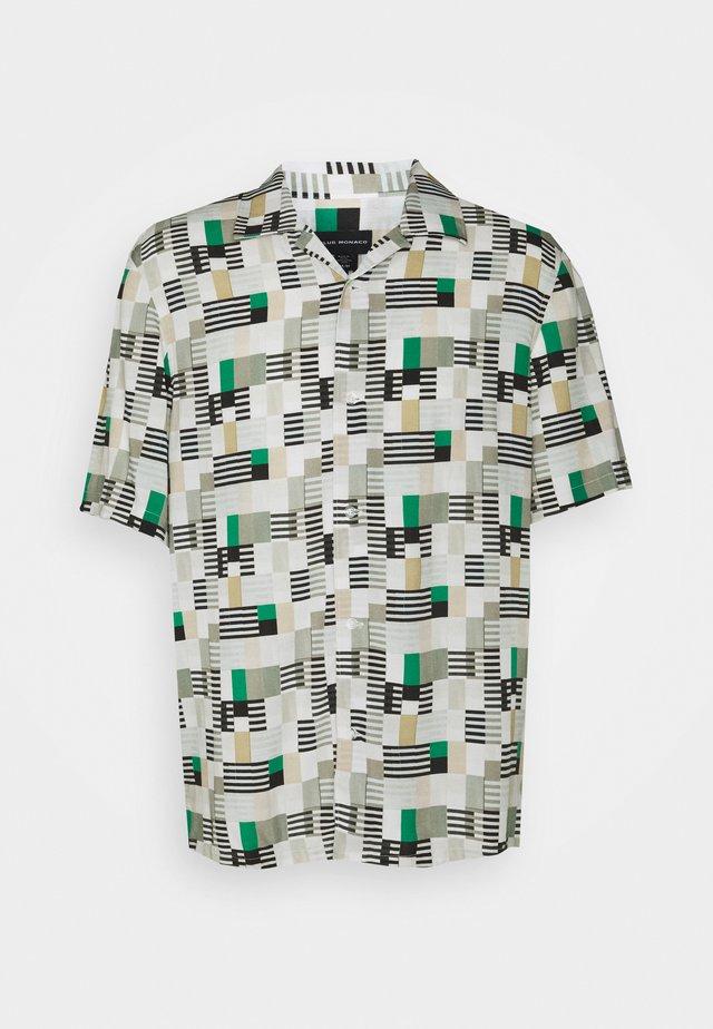 PRINT SHIRT - Košile - green/multi