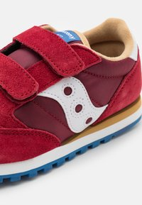 Saucony - JAZZ DOUBLE KIDS UNISEX - Zapatillas - red/blue/tan - 5