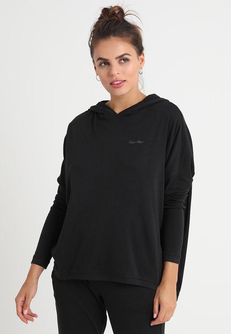 Calvin Klein Underwear - HOODIE - Pyjama top - black