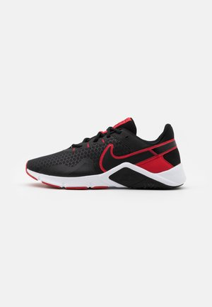 LEGEND ESSENTIAL 2 - Sports shoes - black/university red/white