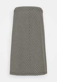 Opus - ROSALYN PEPITA - A-line skirt - black - 1