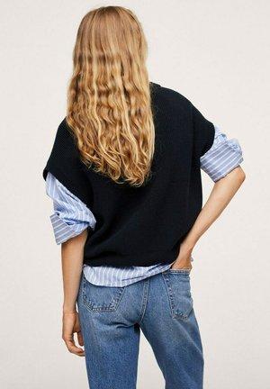 Print T-shirt - bleu marine foncé