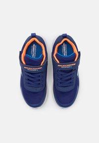 Skechers - DYNAMIC TREAD - Trainers - navy/orange/light blue - 3