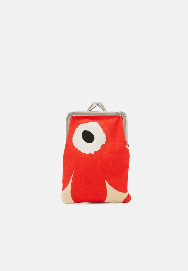 KORTTI KUKKARO MINI UNIKKO PURSE - Wallet - beige/red/off white