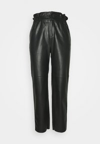 NIKA - Kalhoty - black