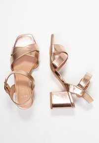 New Look Wide Fit - WIDE FIT TUCKER - Sandals - rose gold - 3
