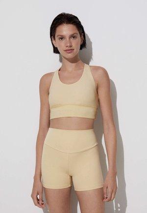 COMFORTLUX HOT PANTS - Tights - light yellow