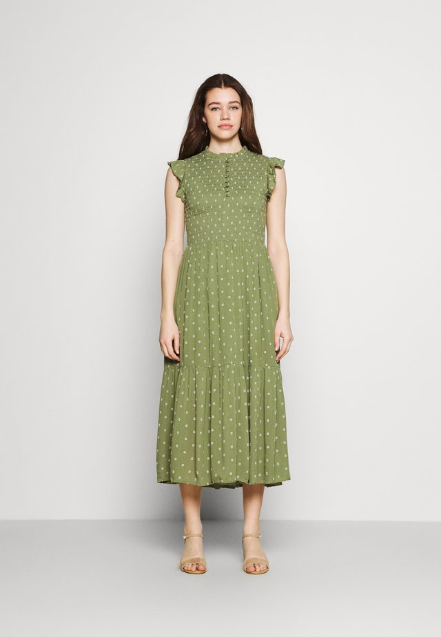 BYFELICE DRESS - Korte jurk - oil green