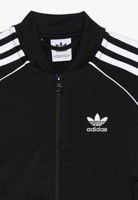 adidas Originals - SUPERSTAR SUIT - Verryttelypuku - black/white - 6