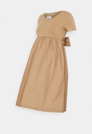 MLCAROLINA DRESS - Jersey dress - natural