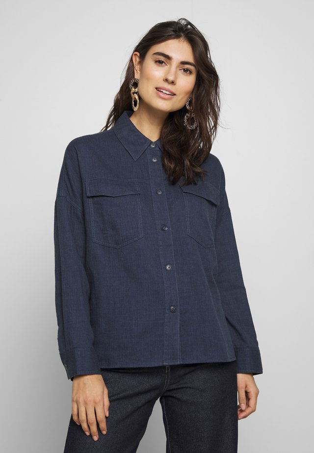 FUBY - Camicia - just blue