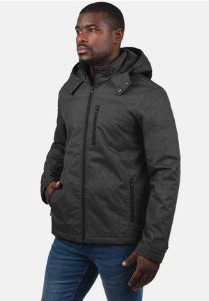 MATHEO - Light jacket - mottled black