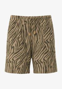 MARGITTES - Shorts - taupe/schwarz - 2