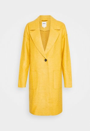 ONLNANA MALIA COATIGAN - Manteau classique - golden yellow