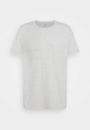 WILLIAMS TEE - Jednoduché triko - heather grey