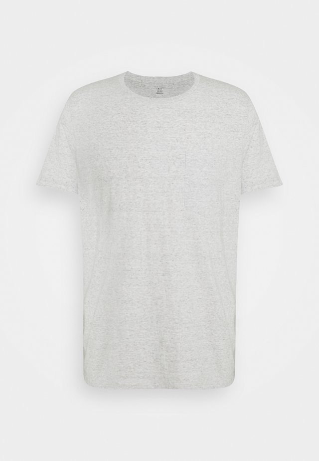 WILLIAMS TEE - Basic T-shirt - heather grey