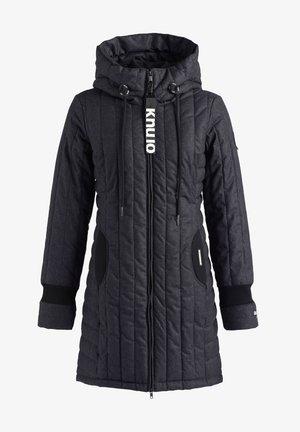 MANTEL JERRY PRIME4 - Winter coat - schwarz-weiß meliert